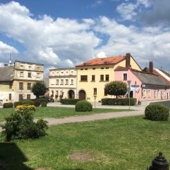 Nová Bystřice Hauptplatz