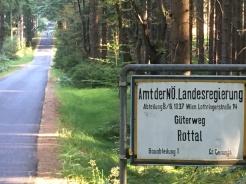 Güterweg nach Rottal