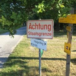 Grenzlinie bei Rottal