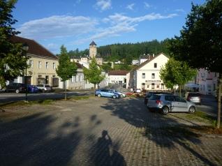 Hauptplatz von Litschau