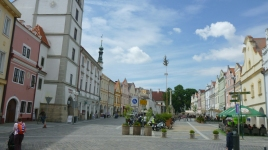 Hauptplatz von Trebon